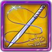 我是火影4星武器物品--长刀-缝针