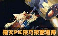 时空猎人猫女PK技巧与技能选择