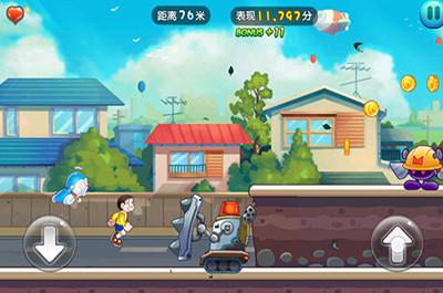 哆啦A梦快跑游戏截图五