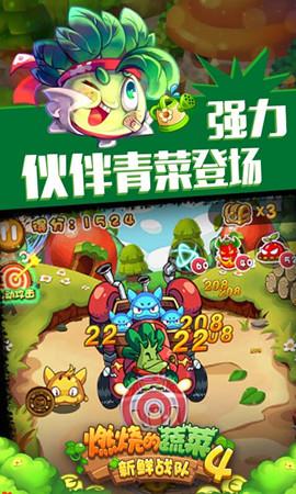 燃燒的蔬菜4新鮮戰隊游戲截圖二