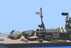 我的世界0.12.2西洋水师模型建筑存档下载