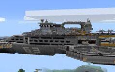 我的世界0.12.2神盾局天空母舰建筑存档下载