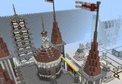 我的世界0.13.0霸气的小镇建筑存档