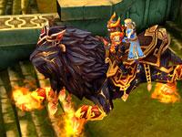 龍戒國王坐騎與美同騎