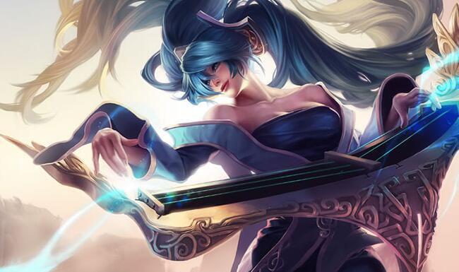 英雄联盟琴瑟仙女