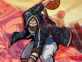 街球聯盟與籃球裝備品牌AND1跨界合作