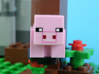 MC乐高玩具定格动画 小猪Reuben