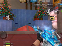 闪闪解说:圣诞狂欢躲墙后无伤穿墙杀人bug