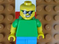MC乐高玩具定格动画 香蕉特工