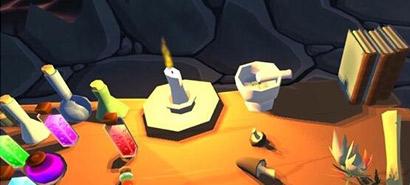 VR炉石传说上线 《法力风暴》特效加鸡腿
