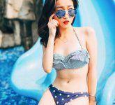 清新女神夏日泳装写真 清凉范儿来袭