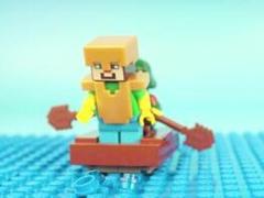 MC乐高玩具定格动画 刻舟求剑