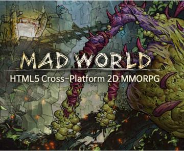 魔幻页游《Mad World》秋季上架