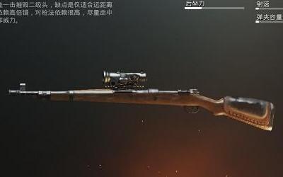刺激战场强势枪械搭配 三种组合轻松吃鸡