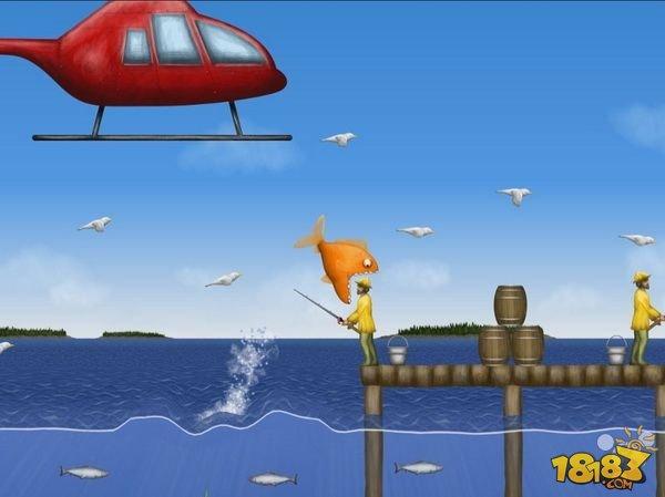 父亲鱼吃小鱼游玩《Tasty Blue》下周四登iOS