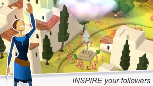 上帝视角模拟经营游戏《godus》首次更新图片