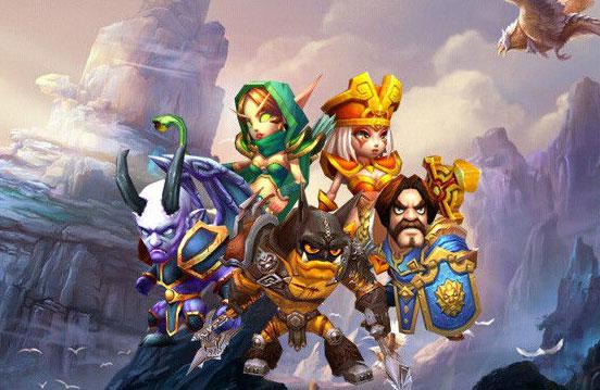 龙战骑士游戏登陆界面图赏