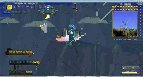 泰拉瑞��1.3版外星人入侵�w碟boss攻略介�B