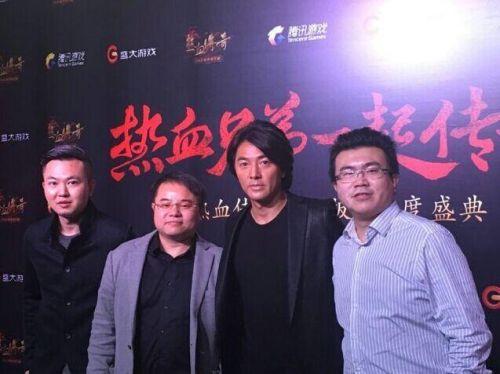 郑伊健:从小开始玩传奇 将拍新电影