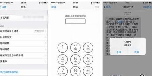 苹果ios9.2语音信箱怎么设置 语音信箱设置方法