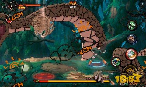 在火影忍者手游中万蛇作为火影忍者手游的相关boss,一度出现在游戏