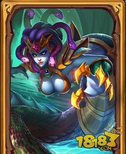 蛇妖亚洲图片大全_混沌之光最强控场英雄是谁 蛇妖美杜莎攻略