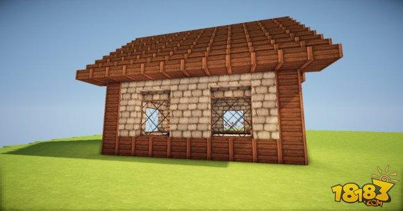 我的世界簡單精致的歐式小房子建造教學