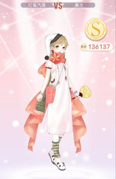 奇迹暖暖少女公主级12-支线2搭配推荐
