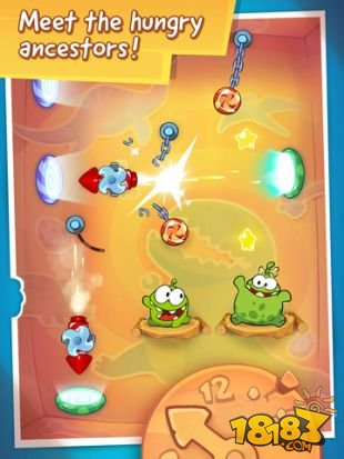 Cut the Rope: Time Travel截图