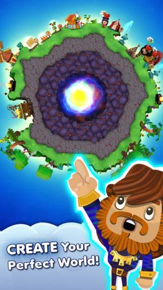 来当上帝吧 模拟游戏《神之手2》登陆苹果商店