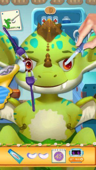 首页 游戏库 恐龙宝贝的眼科医生   - 帮助可爱恐龙宝贝尽快治疗眼睛