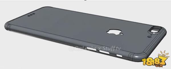 苹果iphone7plus后壳设计图曝光:大白带没了