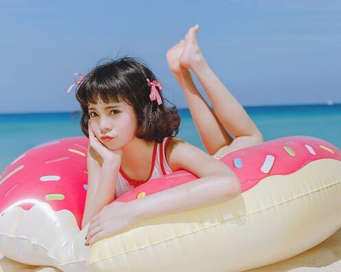 清纯美女海洋沙滩阳光写真集