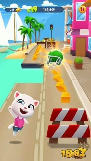 湯姆貓跑酷手游