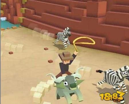 疯狂动物园怎么抓双角兽 双角兽抓取攻略详解