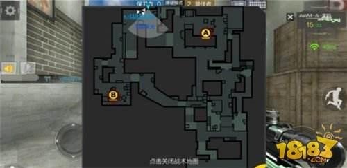 爆破地图 CF手游供电所包点防御策略分析