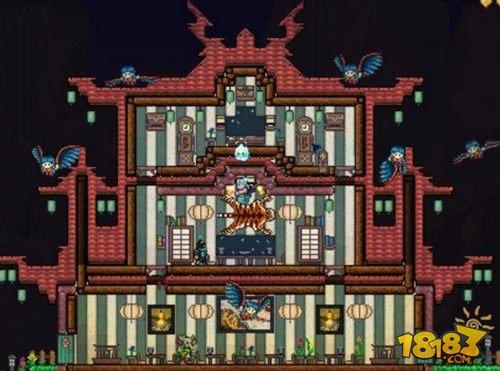 泰拉瑞亚房子设计图片大全 建造属于自己的豪宅