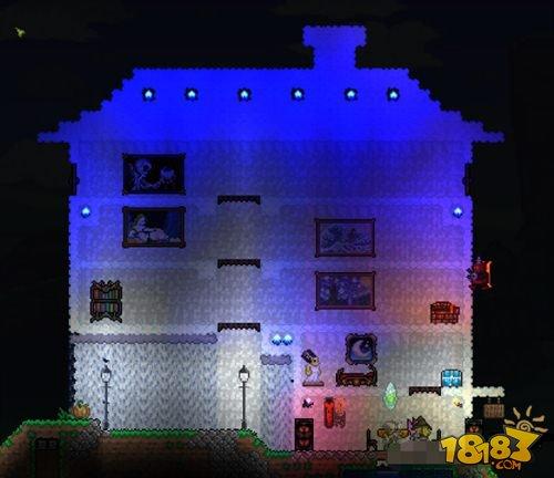泰拉瑞亚城堡设计图 超豪华设计来袭