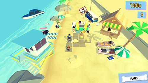 哈巴狗也要玩Go 《聚会哈巴狗:沙滩谜题Go》即将来临