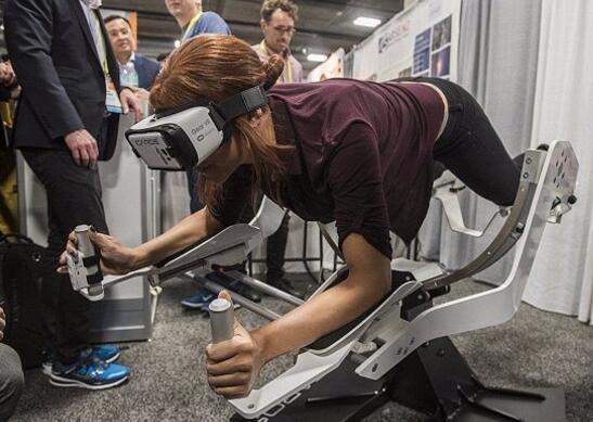 娱乐与健身两不误 VR健身器材现身CES