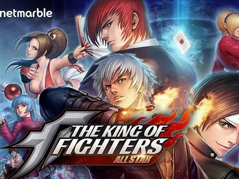 一样是MMORPG类型 网石公布新作《拳皇:群星》