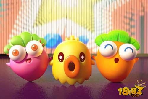 玩具科技背景素材动画