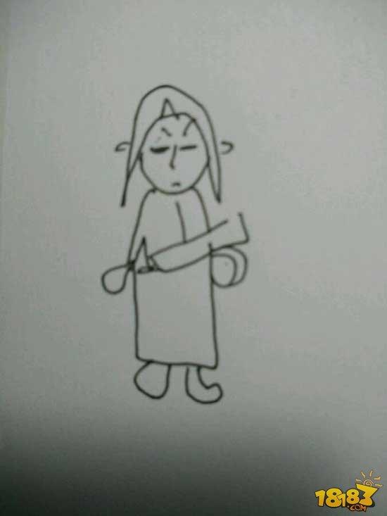 刀怎么画简笔画
