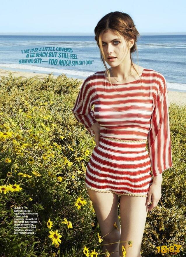 亚历珊德拉达达里奥好莱坞大胸美女高清写真