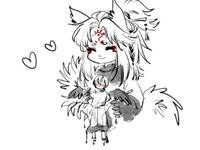 阴阳师漫画《娃娃机》:阿大的小布偶