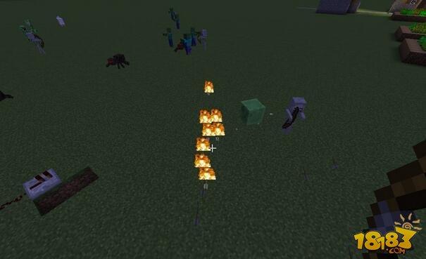 我的世界用岩浆做火焰箭图片