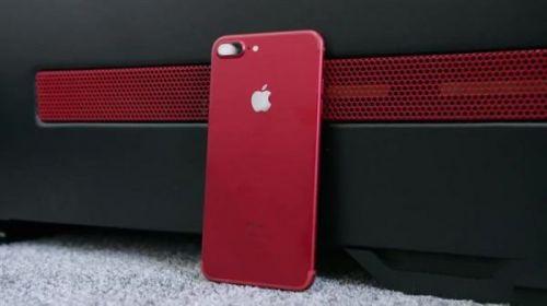 iPhone 7红色好看吗 iPhone 7红色版真机图赏