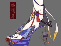 式神高跟鞋绘画鉴赏:你喜欢哪个款式