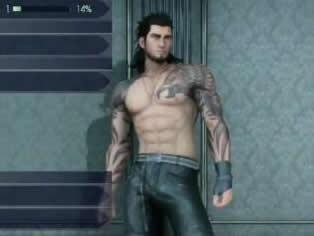 最终幻想15性感服装游戏演示 半裸猛男激似