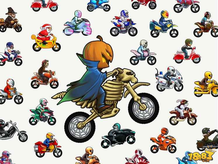 摩托车表演赛截图
